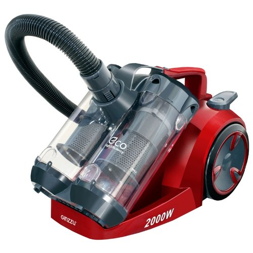 Пылесос Ginzzu VS439 красный/серыйПылесосы<br>