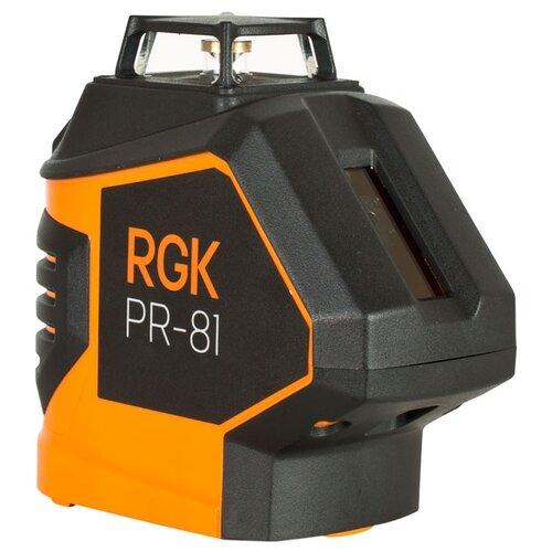 Лазерный уровень самовыравнивающийся RGK PR-81 (4610011873270) уровень rgk u4040