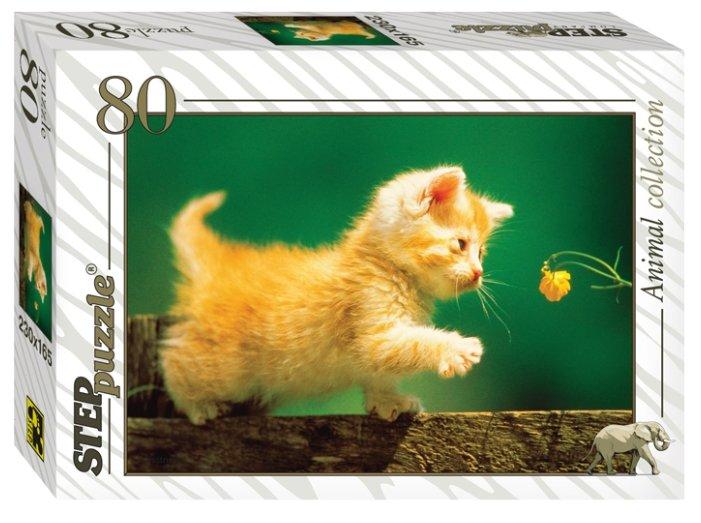 Пазл Step puzzle Animal Collection Золотая серия - 10 животные (77010) в ассортименте, 80 дет.