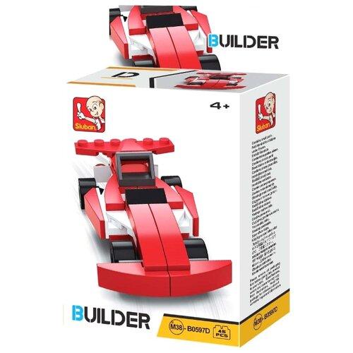 Купить Конструктор SLUBAN Builder M38-B0597D Гоночная машина, Конструкторы