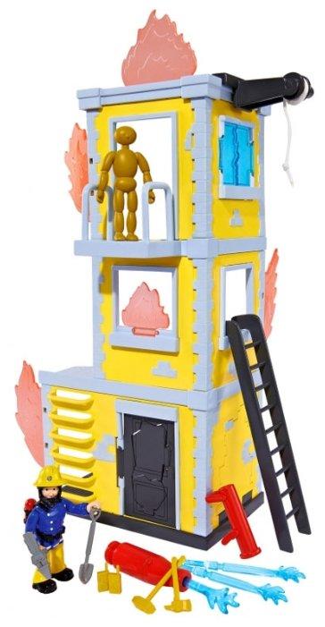 Игровой набор Simba Fireman Sam Большая тренировочная база 9251053/9257652