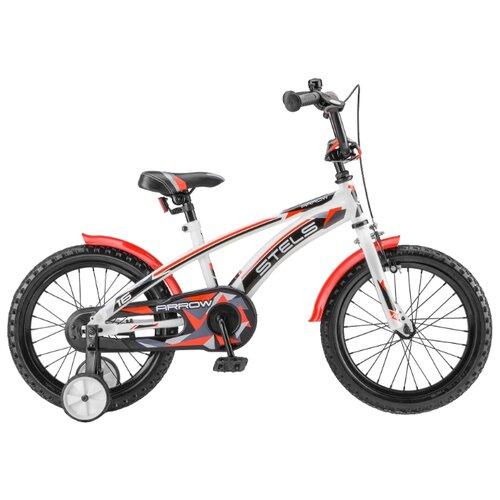Детский велосипед STELS Arrow 16 V020 (2018) белый/красный (требует финальной сборки)