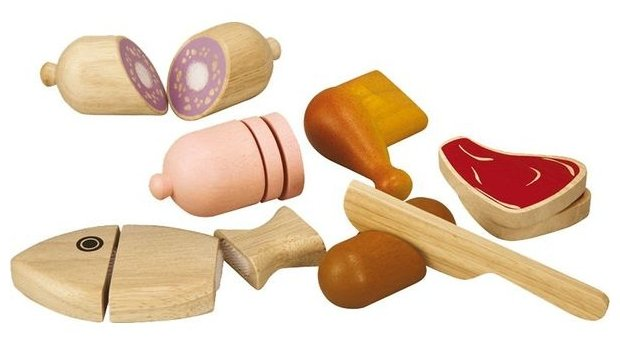 Набор продуктов с посудой PlanToys 3457