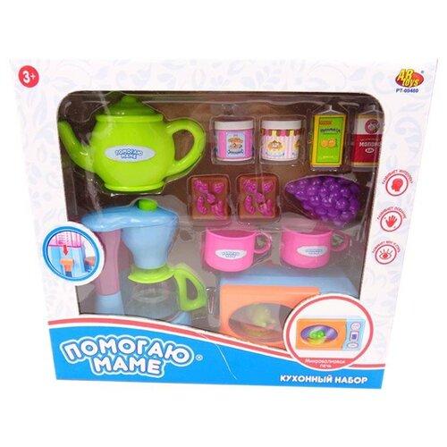 Набор ABtoys Помогаю маме PT-00480 голубой/зеленый/розовый/оранжевый/фиолетовый