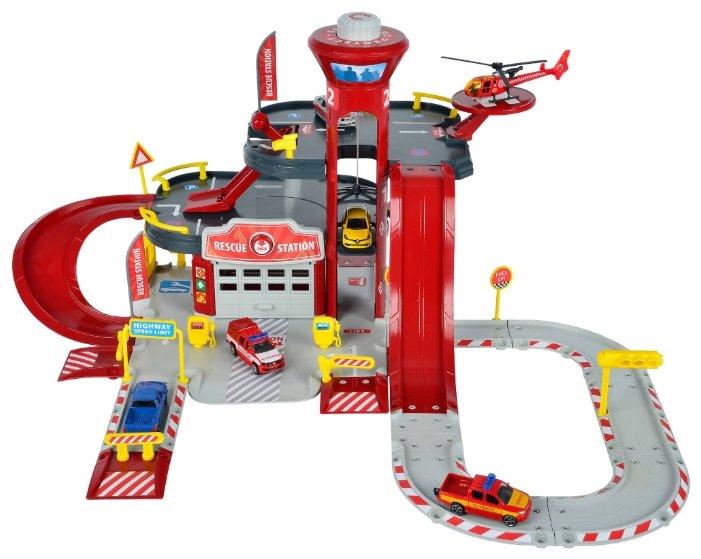 Majorette Игровой набор Пожарная станция Creatix 2050015