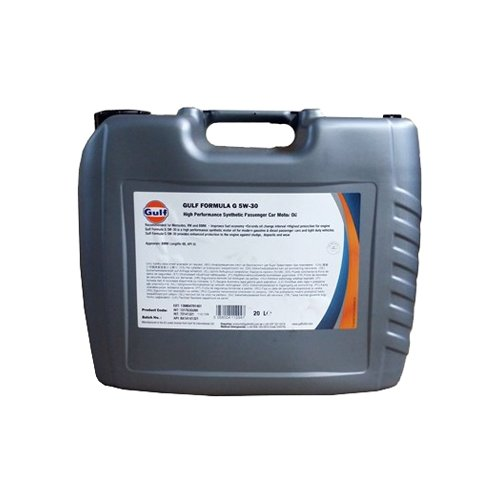 Моторное масло Gulf Formula G 5W-30 20 л моторное масло gulf multi g 20w 50 1 л