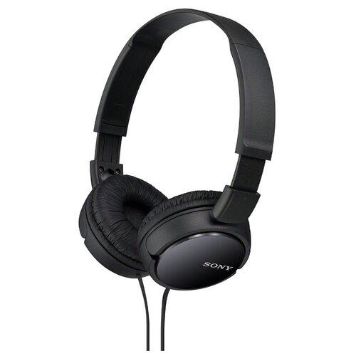 цена на Наушники Sony MDR-ZX110 черный