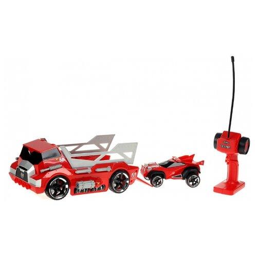 Купить Набор машин Maisto Menace Hauler + Scout X3 (81120) 1:10 красный, Радиоуправляемые игрушки