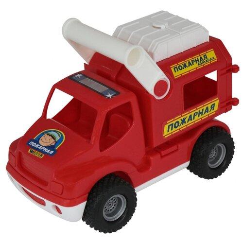 Купить Пожарный автомобиль Wader КонсТрак (41920) 24.5 см красный, Машинки и техника