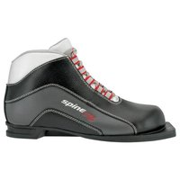 Ботинки для беговых лыж Spine X5 41 серый/черный 36