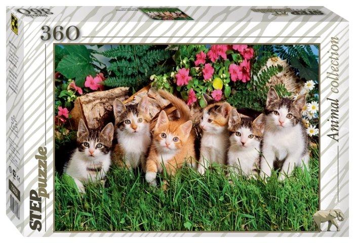 Пазл Step puzzle Animal Collection Дружная семейка (73058), 360 дет.