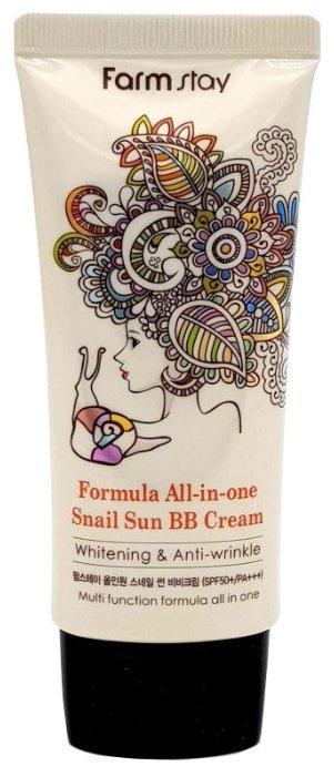 Farmstay Formula All In One BB крем Snail Sun BB Cream 50 гр