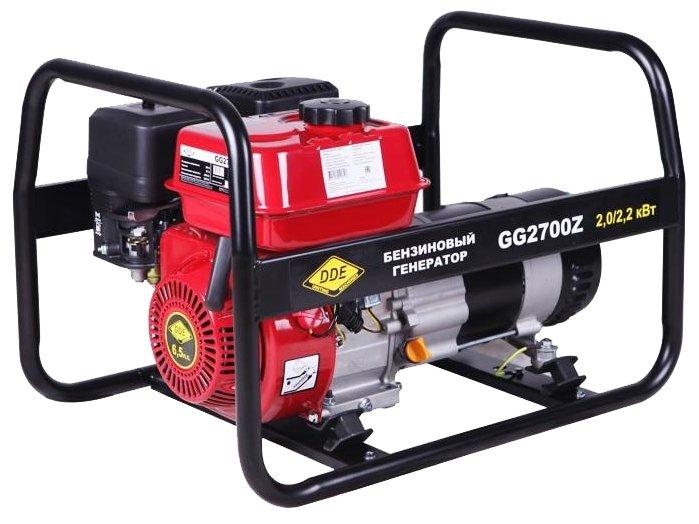 Бензиновый генератор DDE GG2700Z (2000 Вт)