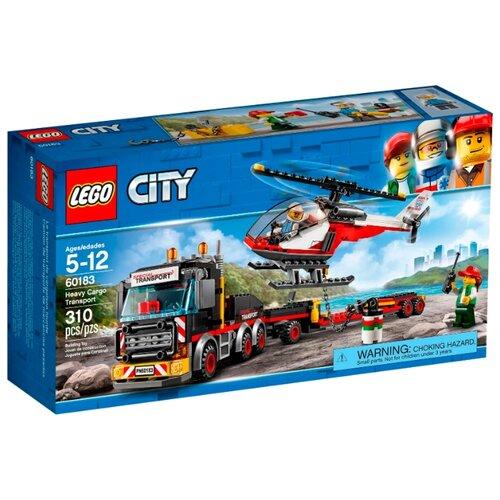 Купить Конструктор LEGO City 60183 Тяжёлый грузовой транспорт, Конструкторы
