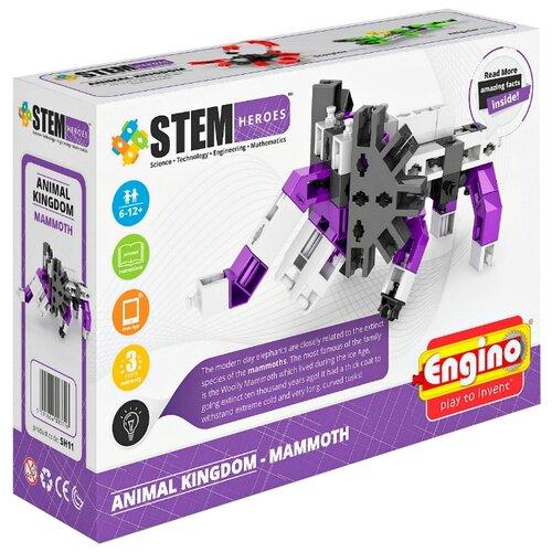 Купить Конструктор ENGINO STEM Heroes SH11 Мир животных - Мамонт, Конструкторы