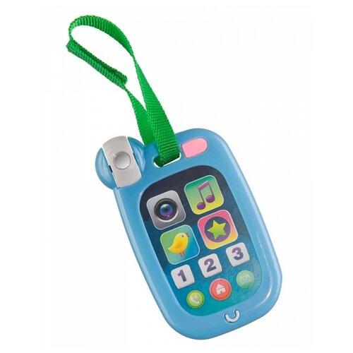 Купить Интерактивная развивающая игрушка Happy Baby HappyPhone 330640 синий, Развивающие игрушки
