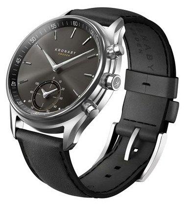 Часы Kronaby Sekel (leather strap) 43mm
