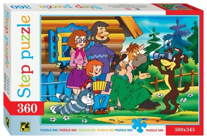 Пазл Step puzzle Союзмультфильм Простоквашино (73011), 360 дет.