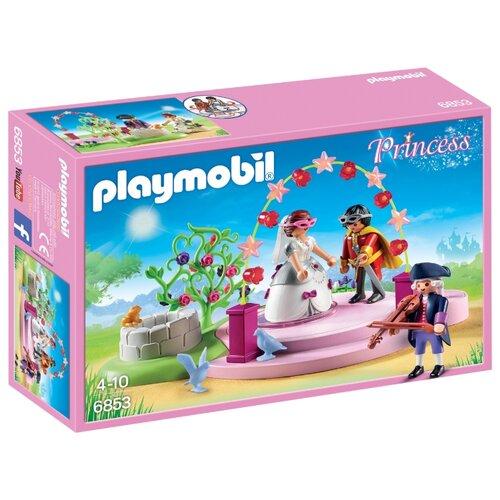 Купить Набор с элементами конструктора Playmobil Princess 6853 Маскарадный бал, Конструкторы