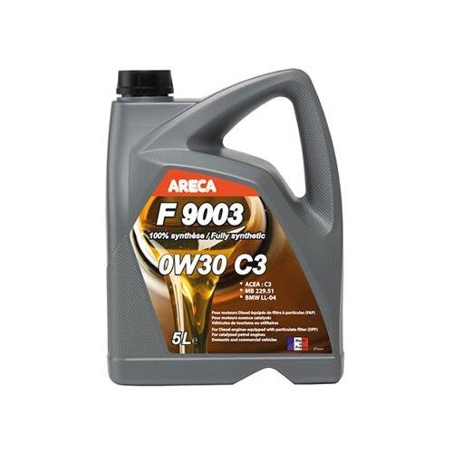 Синтетическое моторное масло Areca F9003 0W30 C3 5 л