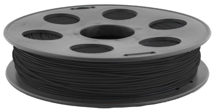 PLA пруток BestFilament 1.75 мм тёмно-серый 0.5 кг фото 1