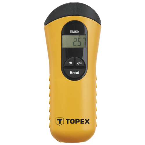 Ультразвуковой дальномер TOPEX 31C902 желтый/черный ящик topex 79r100
