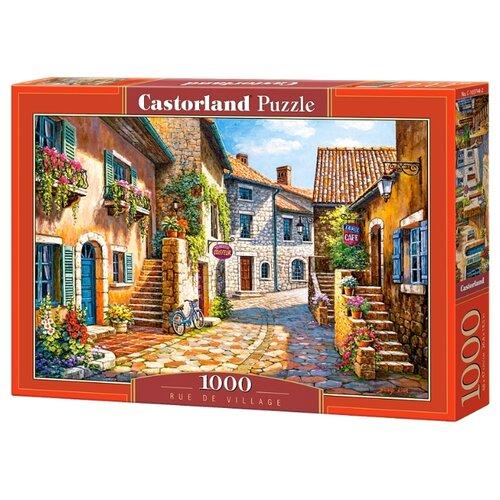 Купить Пазл Castorland Rue de Village (C-103744), 1000 дет., Пазлы