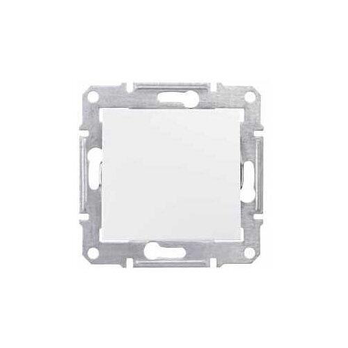 Выключатель 1-полюсныйвыключатель / переключатель Schneider Electric SEDNA SDN0100121,10А, белыйРозетки, выключатели и рамки<br>