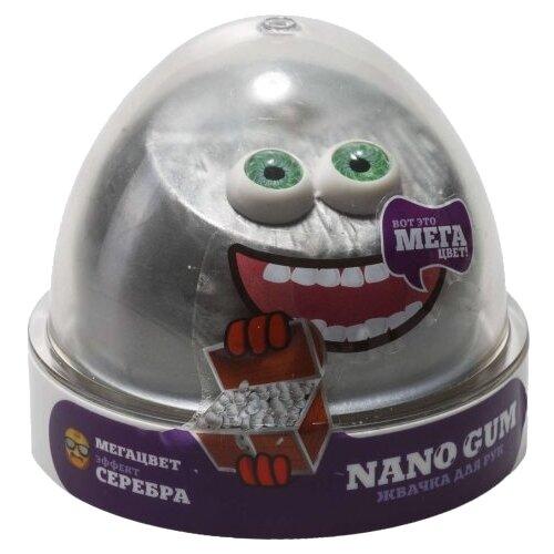 Купить Жвачка для рук NanoGum эффект серебра 50 гр (NGCCS50), Игрушки-антистресс