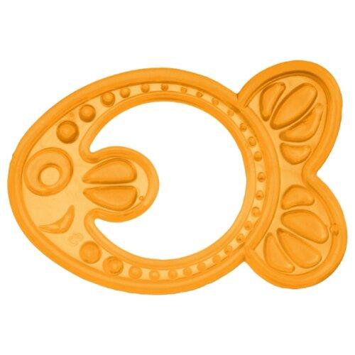 Купить Прорезыватель Canpol Babies Elastic teether 13/109 желтая рыбка, Погремушки и прорезыватели
