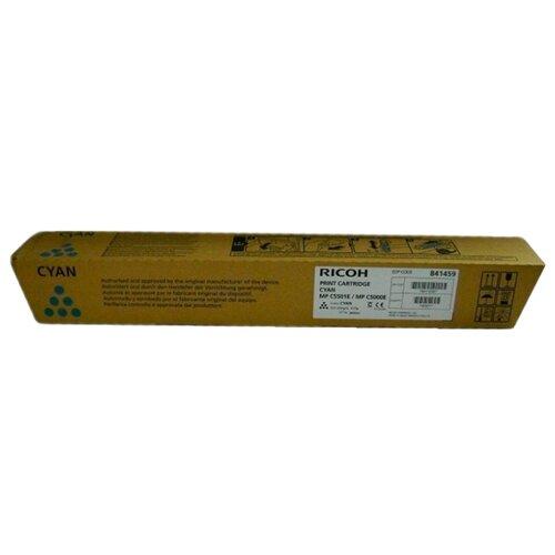 Картридж Ricoh MP C5501E Cyan принт картридж ricoh mp c5501e mp c5000e голубой