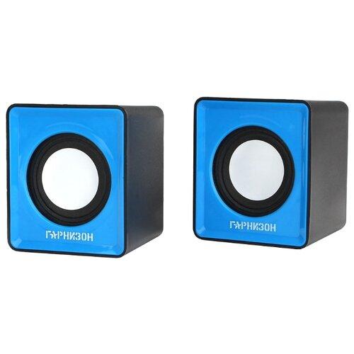 Компьютерная акустика Гарнизон GSP-100 синий / черный