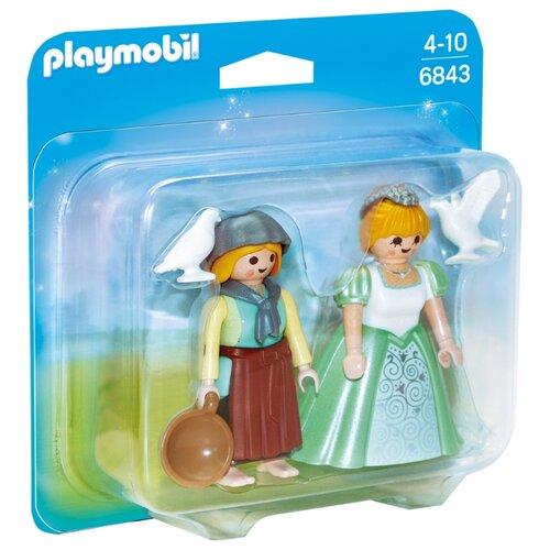 Набор с элементами конструктора Playmobil Princess 6843 Принцесса и служанка