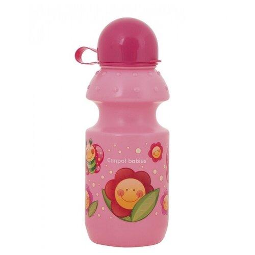 Фото - Поильник-непроливайка Canpol Babies 4/113, 360 мл розовый поильник непроливайка canpol babies 4 113 360 мл зеленый