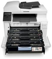 МФУ HP Color LaserJet Pro MFP M181fw белый