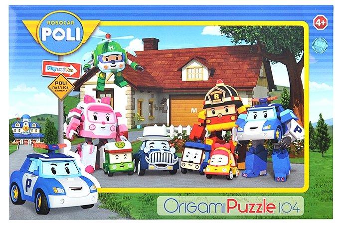Пазл Origami Robocar Poli (05798), 104 дет.