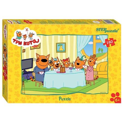 Купить Пазл Step puzzle СТС Три кота (94060), 160 дет., Пазлы