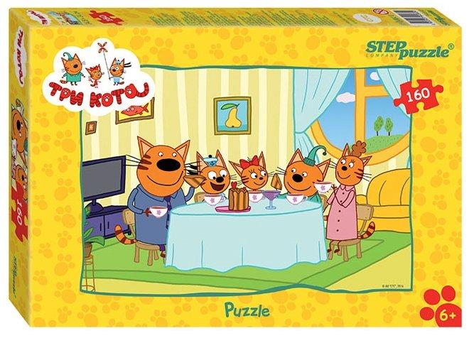 Пазл Step puzzle СТС Три кота (94060), 160 дет.