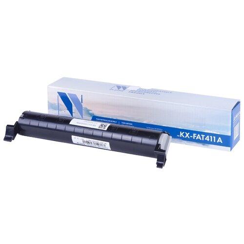 Фото - Картридж NV Print KX-FAT411A для Panasonic, совместимый nv print kx fat410a черный