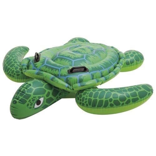 Надувная игрушка-наездник Intex Морская черепаха 56524 зеленыйНадувные игрушки<br>