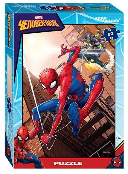 Пазл Step puzzle Marvel Человек-паук - 2 (81168), 60 дет.