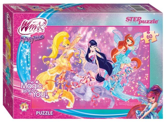 Пазл Step puzzle Rainbow Winx (81124), 60 дет.