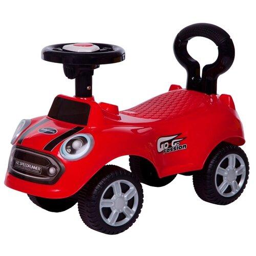 Купить Каталка-толокар Baby Care Speedrunner (616B) со звуковыми эффектами красный, Каталки и качалки