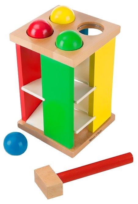 Игра с шарами и молотком, Melissa Doug (развивающая игра)