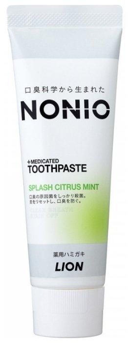 Зубная паста Lion NONIO+Medicated, цитрусовая мята