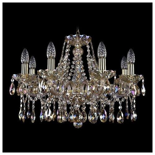 Люстра Bohemia Ivele Crystal 1413/8/200/G/M701, E14, 320 Вт люстра bohemia ivele crystal 1716 8 8 4 265b gb
