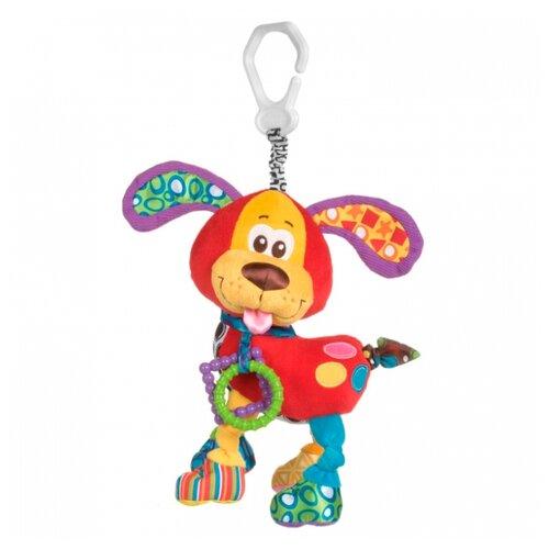 Подвесная игрушка Playgro Щенок (0181200) красный/желтый playgro щенок 0185471