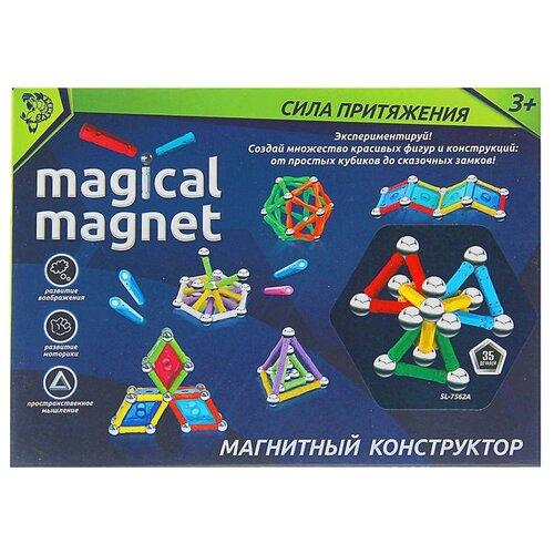 Магнитный конструктор Zabiaka Magical Magnet 1387370-35 Необычные фигуры
