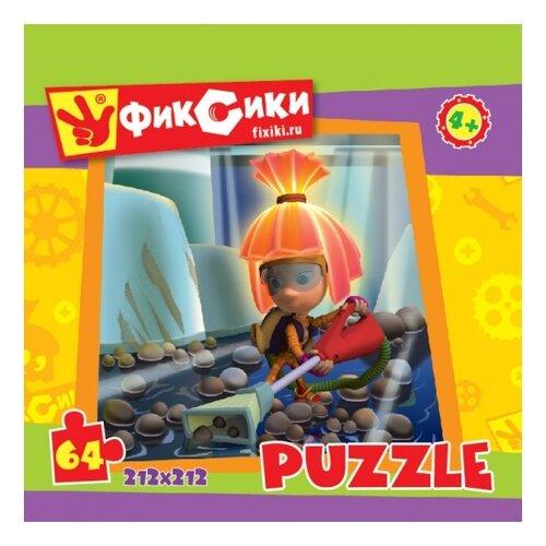 Купить Пазл Origami Фиксики Симка с пылесосом (11692), 64 дет., Пазлы