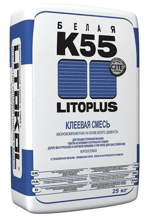 Клей Litokol Litoplus K55 25 кг